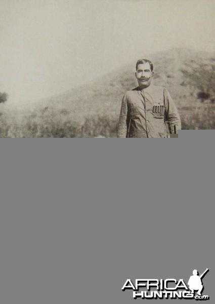 The Maharajah of Bikaner with his 100th tiger
