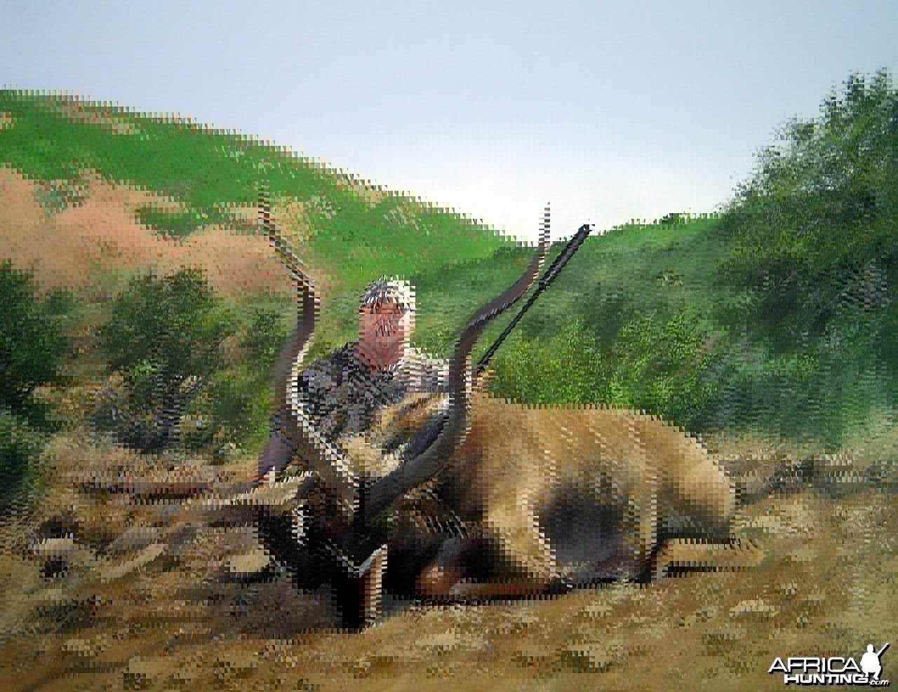 Hunting Trophy Portrait by Dawie Fourie