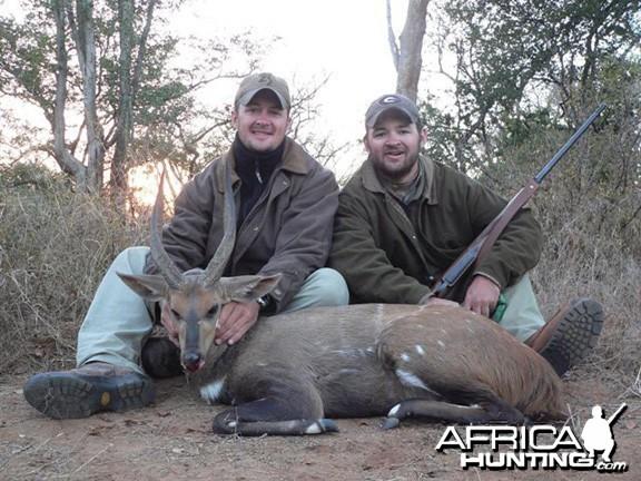 Hunting Bushbuck Zimbabwe