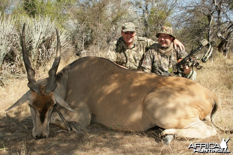 Bow hunt at Baobab Game Ranch Namibia