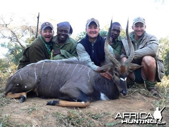Nyala Hunting Zimbabwe