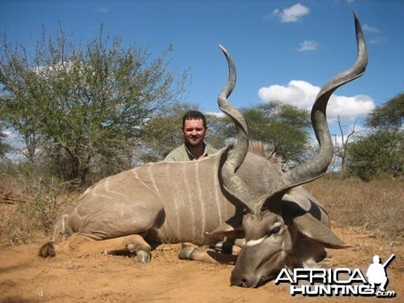 Hunting Kudu Zimbabwe