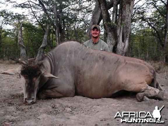 Hunting Eland Zimbabwe