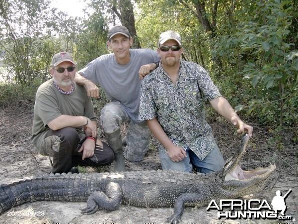 Another Successful Louisiana Alligator Hunter