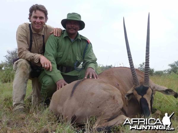 Fringed Eared Oryx Tanzania