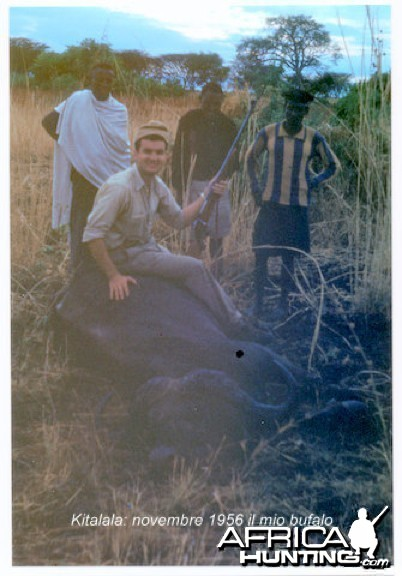 Claudio Delfabro Buffalo Tanzania