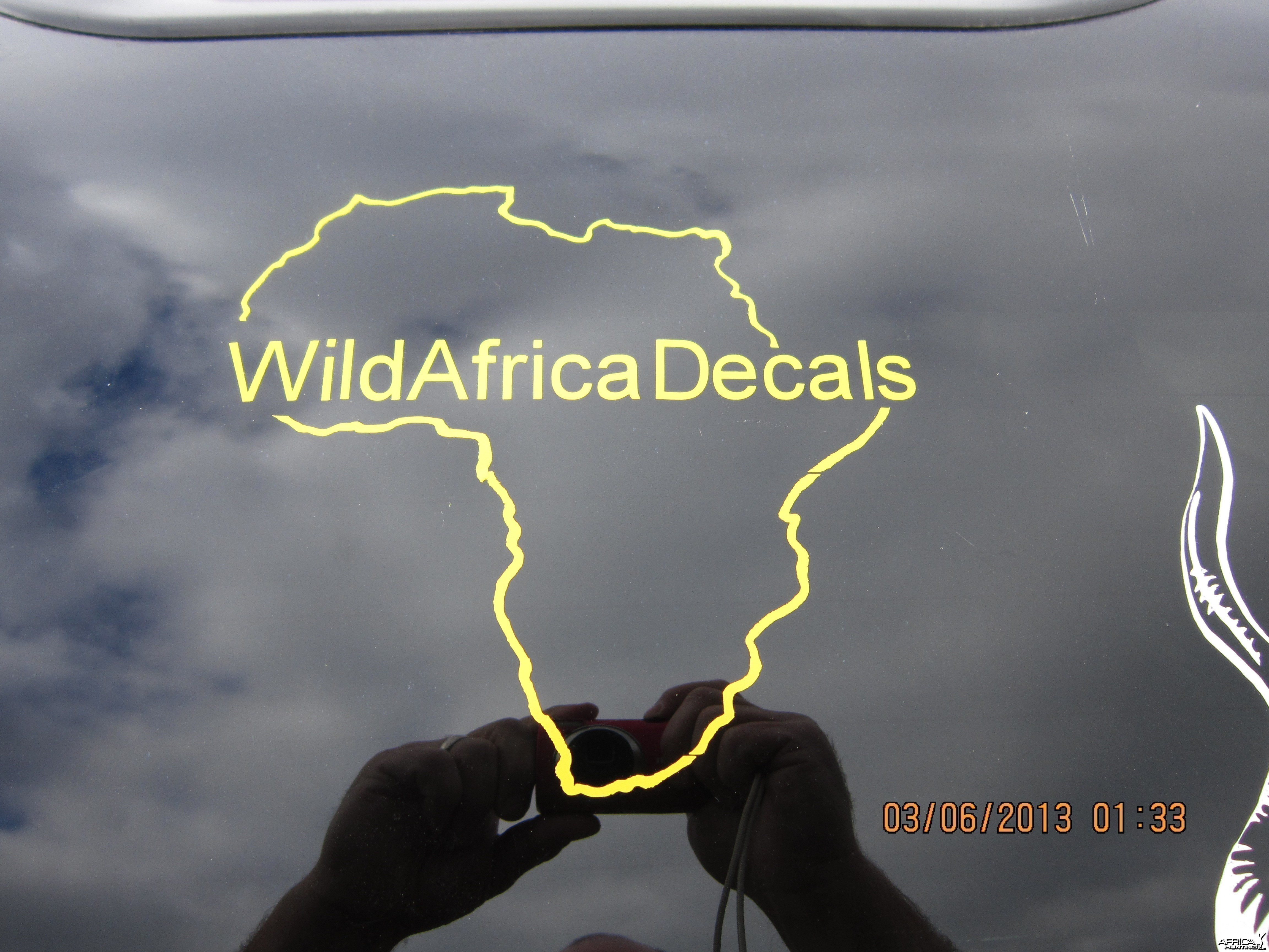 Africa Decal Stickers