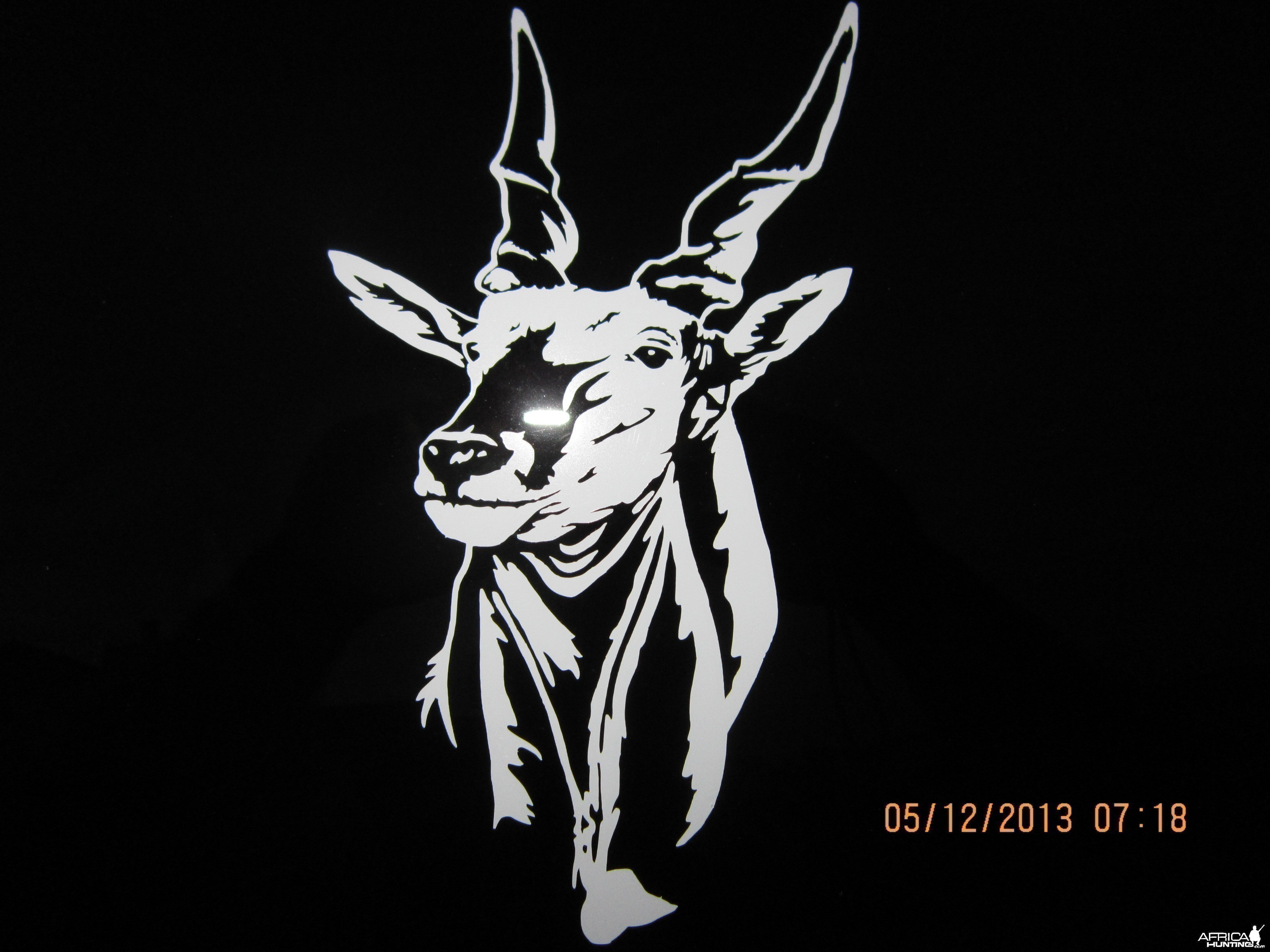 Eland Decal Stickers