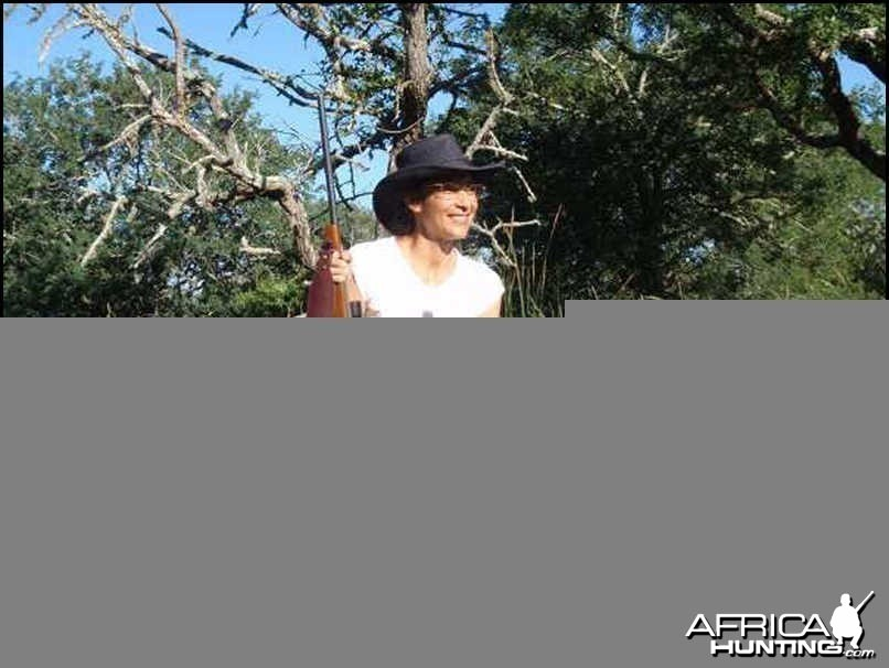 Nice Wart Hog with a .270 Model 70 Winchester