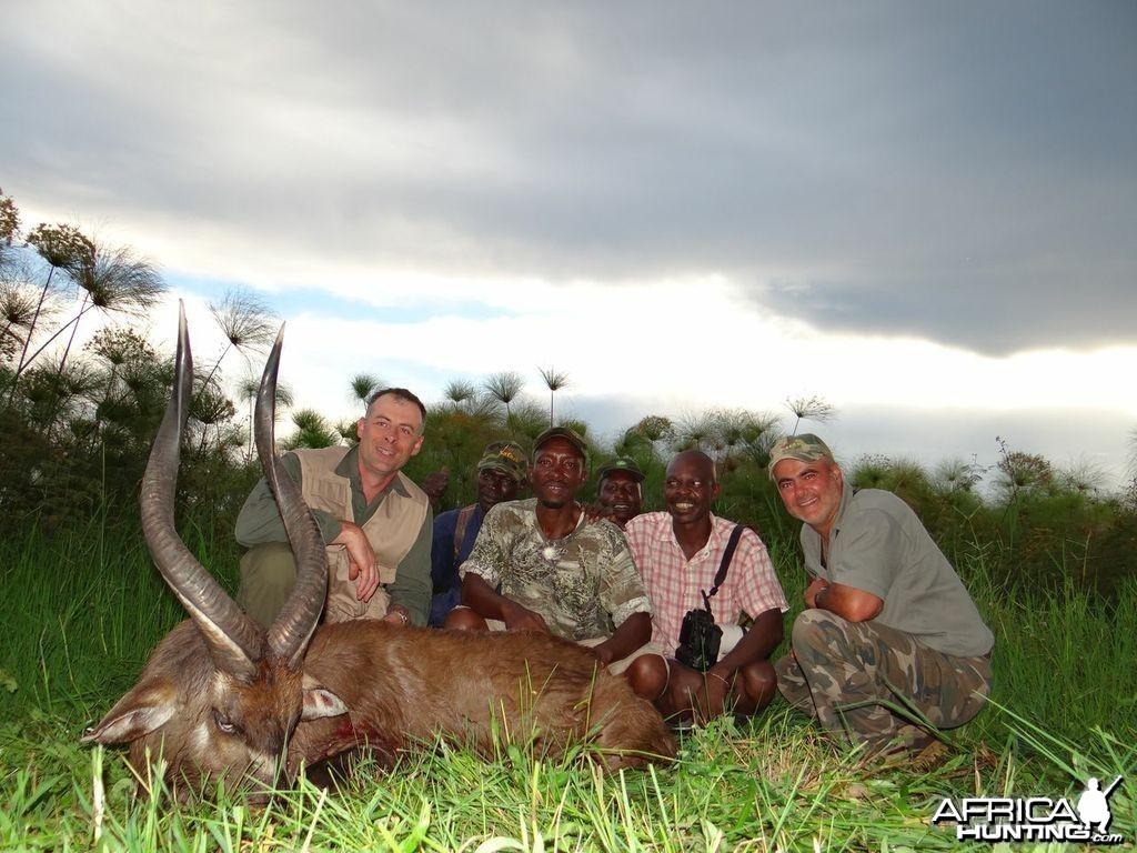 Hunting Sitatunga Uganda