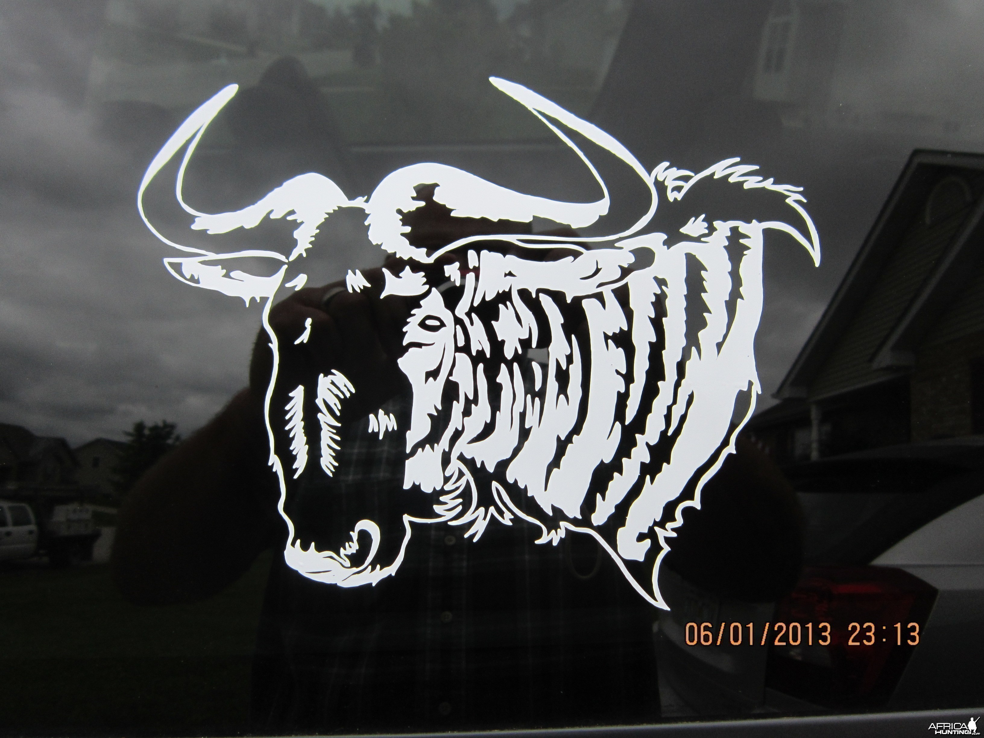 Blue Wildebeest Decal Stickers