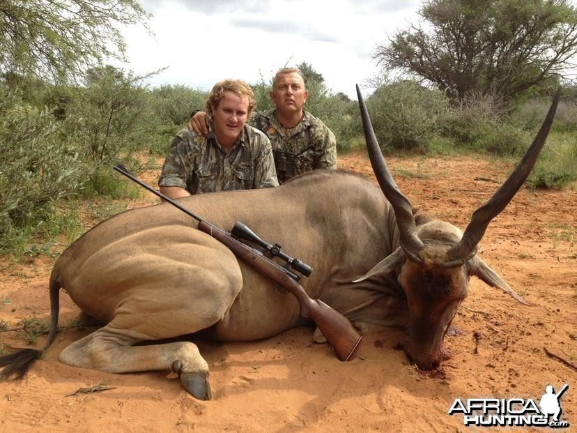 Eland-youngster