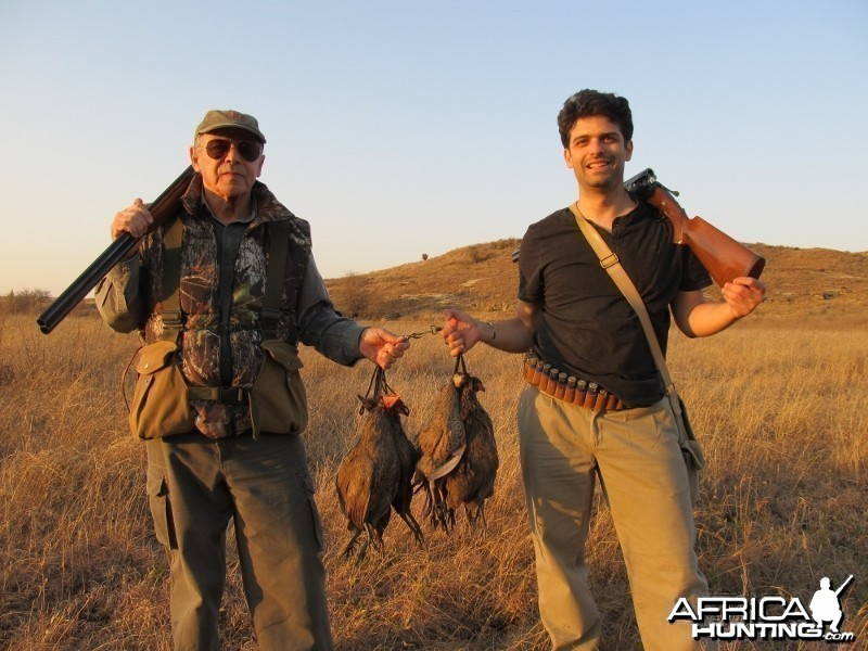Umdende Hunting Safaris Wingshooting June