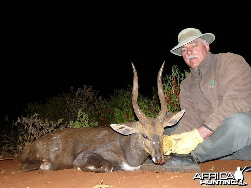Bushbuck hunt with Wintershoek Johnny Vivier Safaris