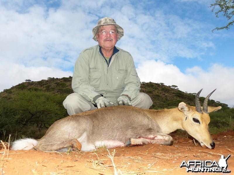 Mountain Reedbuck hunt with Wintershoek Johnny Vivier Safaris