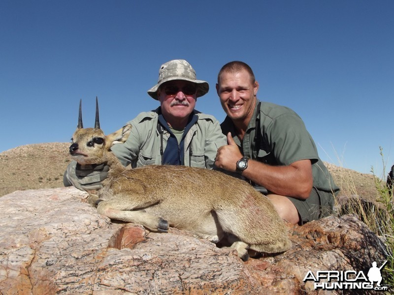 Klipspringer hunt with Wintershoek Johnny Vivier Safaris