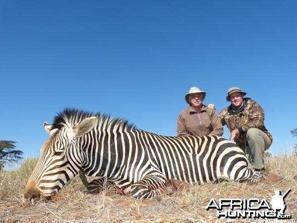 Mountain Zebra hunt with Wintershoek Johnny Vivier Safaris
