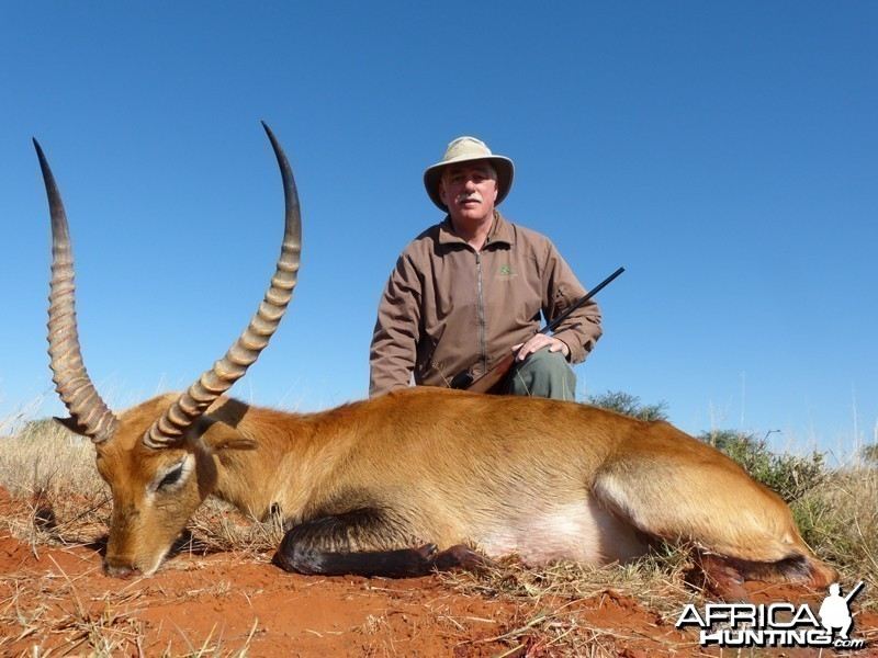 Red Lechwe hunt with Wintershoek Johnny Vivier Safaris