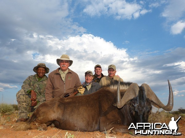 Black Wildebeest hunt with Wintershoek Johnny Vivier Safaris