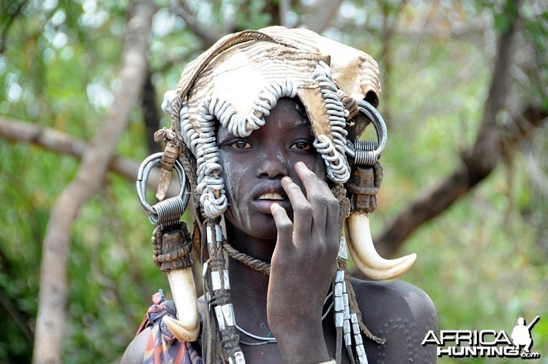 Mursi People Ethiopia
