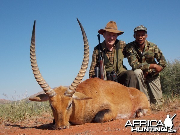 Lechwe hunt with Wintershoek Johnny Vivier Safaris