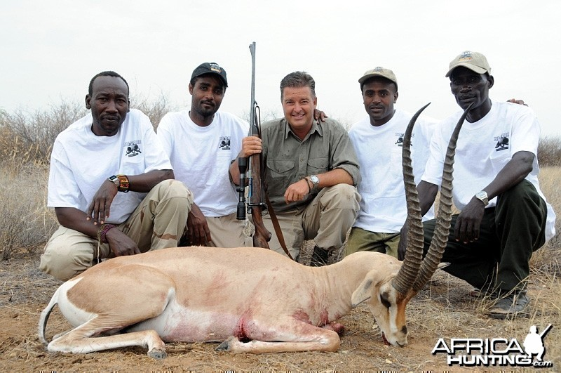 Hunting Grant's Gazelle in Ethiopia