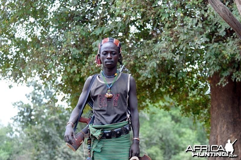 Armed Ethiopian