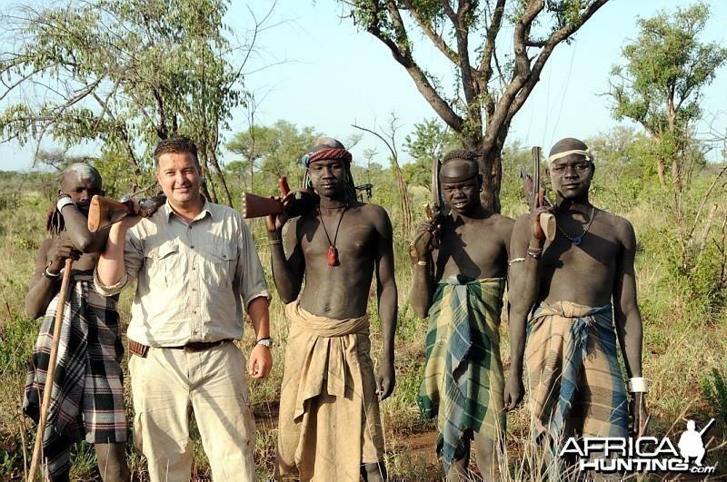 Nomadic Tribe in Ethiopia