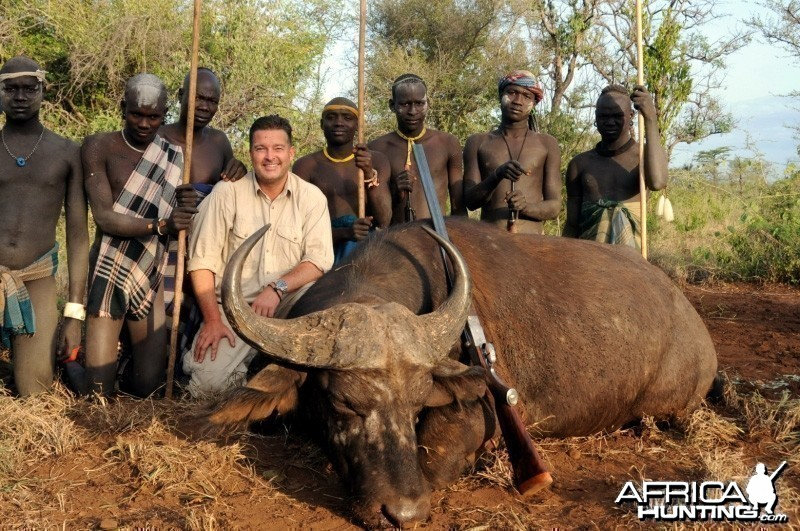 Hunting Nile Buffalo in Ethiopia