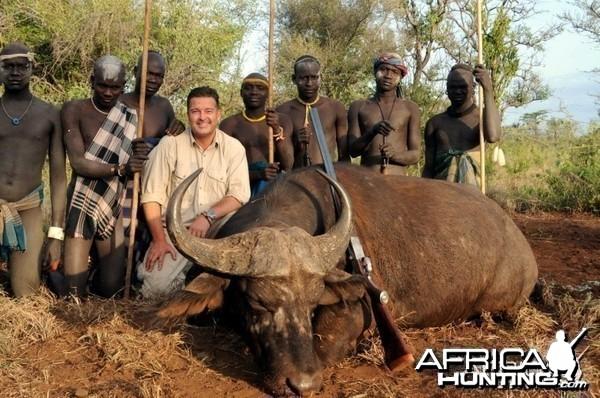 Hunting Nile Buffalo in Ethiopia