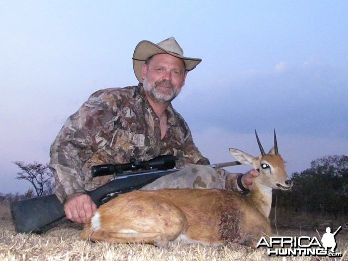 Oribi hunt with CAWA in CAR