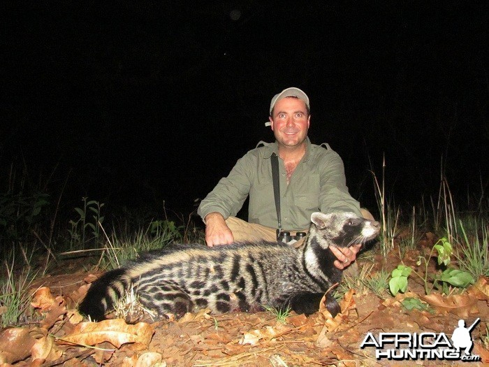 Civet hunt with CAWA in CAR