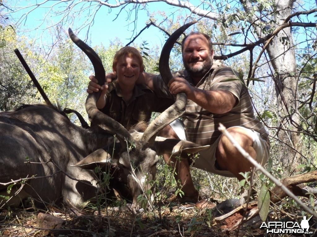 """42"""" Kudu bull"""