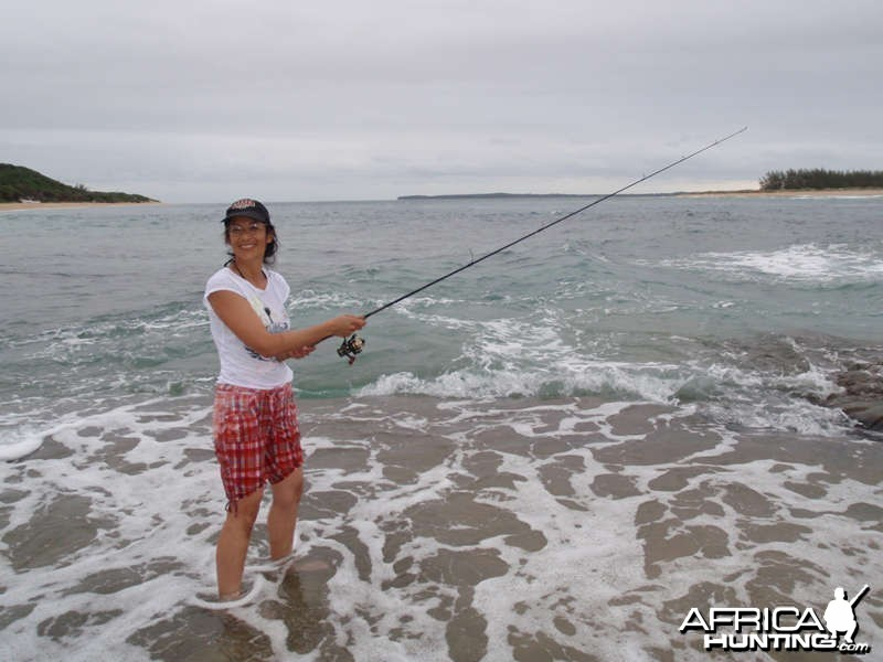 Fishing at Inhaca Island