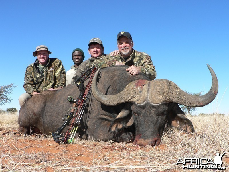 Buffalo hunt with Wintershoek Johnny Vivier Safaris