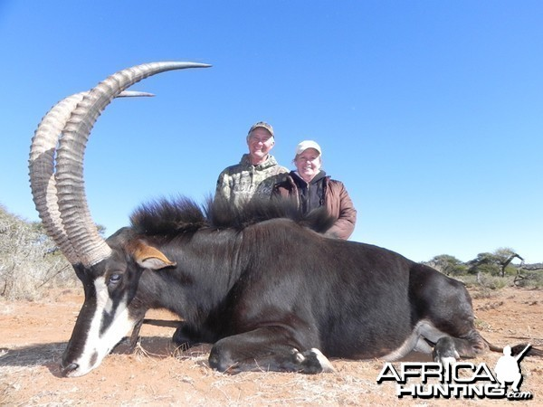 Sable hunt with Wintershoek Johnny Vivier Safaris