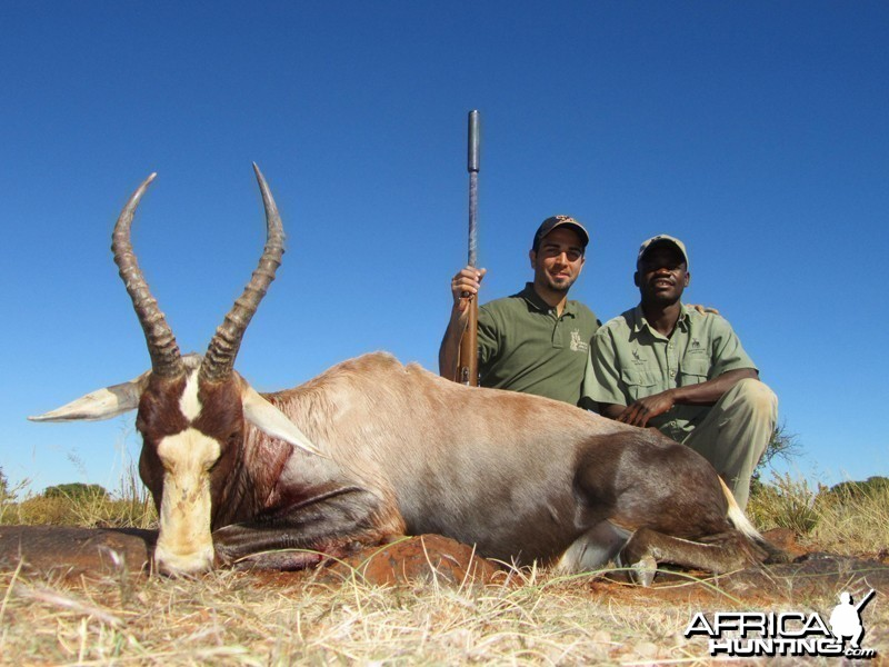 Blesbuck hunt with Wintershoek Johnny Vivier Safaris