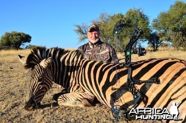 Zebra hunt with Wintershoek Johnny Vivier Safaris