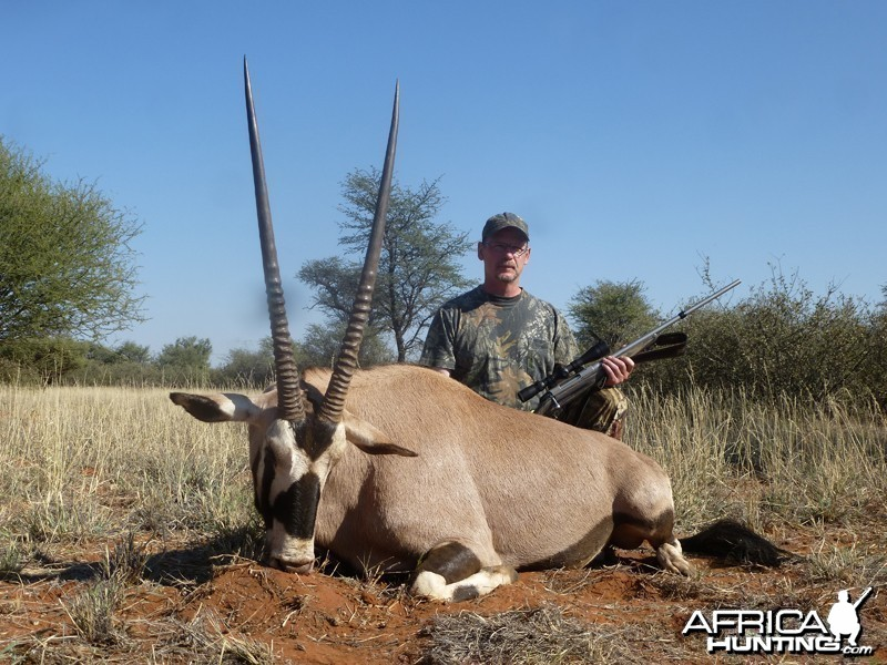 Gemsbok hunt with Wintershoek Johnny Vivier Safaris
