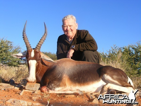 Bontebok hunt with Wintershoek Johnny Vivier Safaris