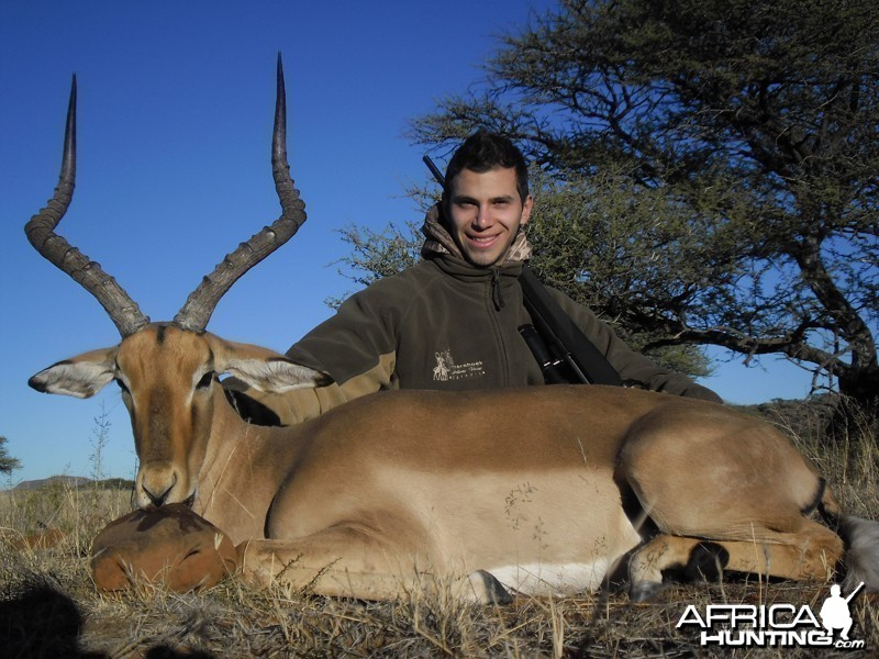 Impala hunt with Wintershoek Johnny Vivier Safaris
