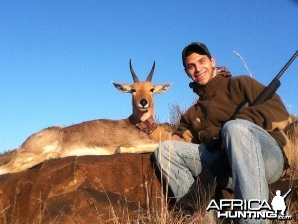 Mountain Rheebuck hunt with Wintershoek Johnny Vivier Safaris