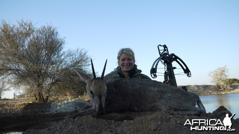 Duiker hunt with Wintershoek Johnny Vivier Safaris
