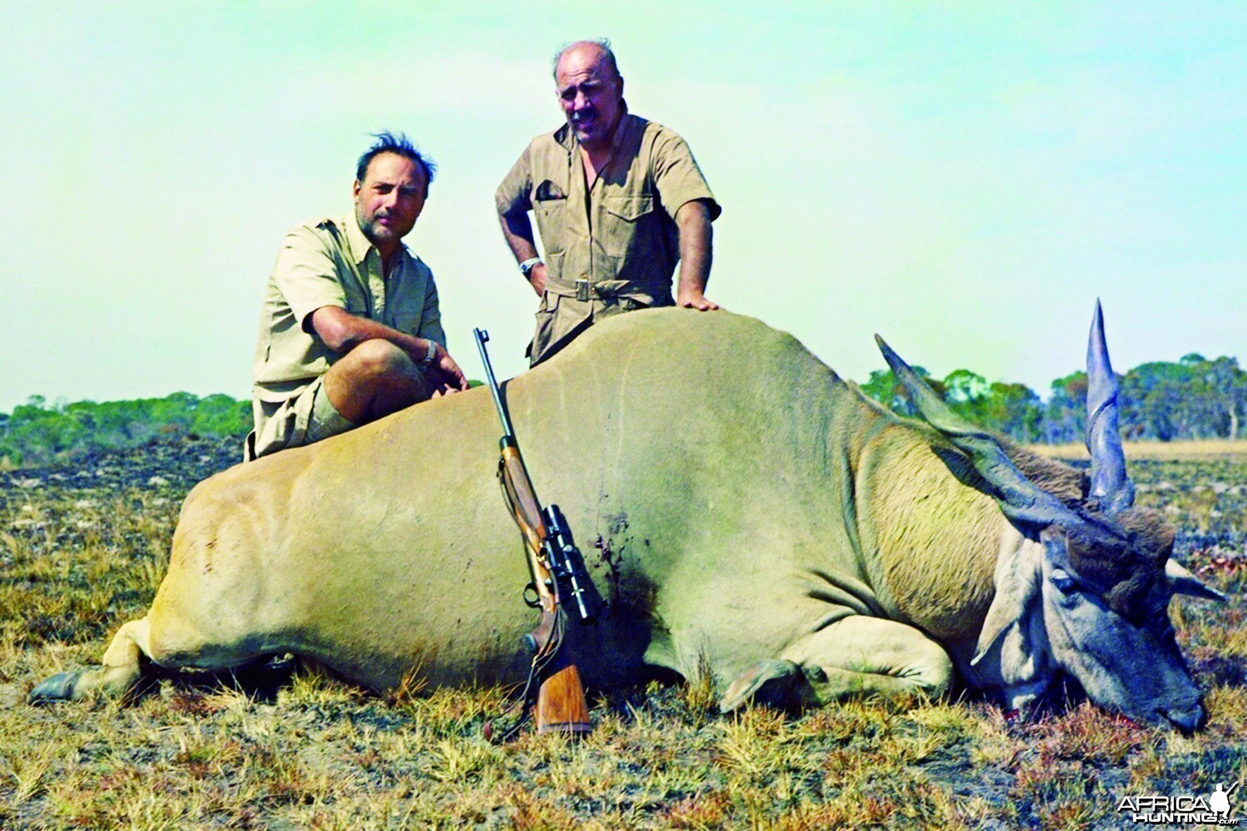 Jorge Alves de Lima with Eland