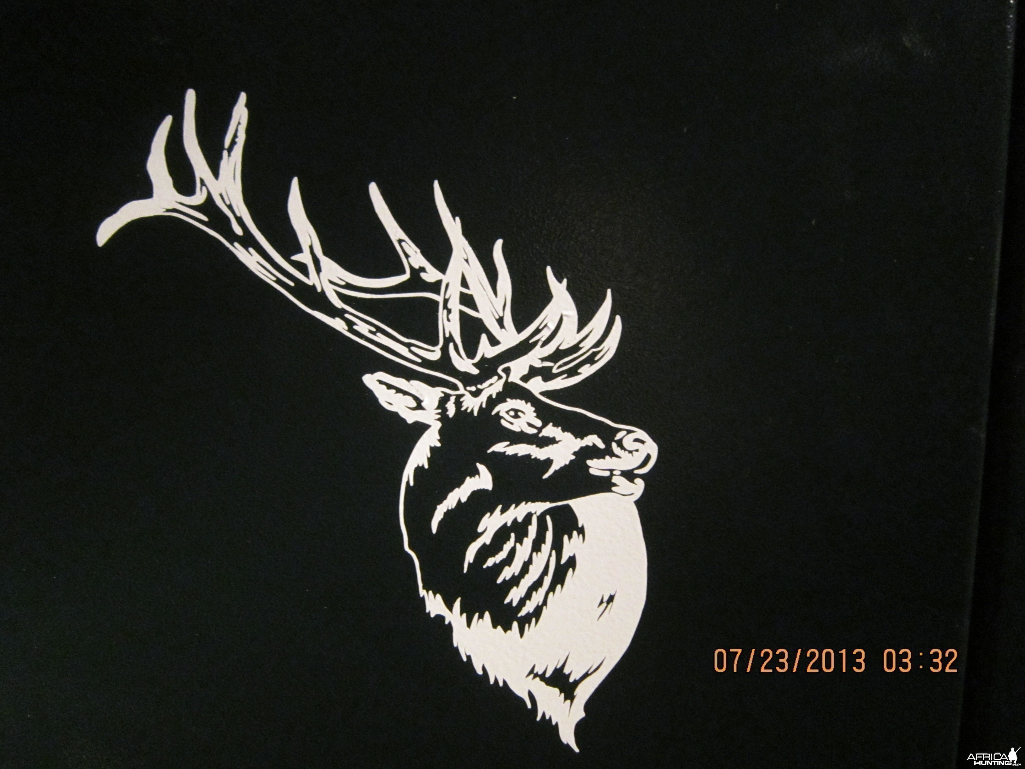 Bugling Elk Decal Stickers