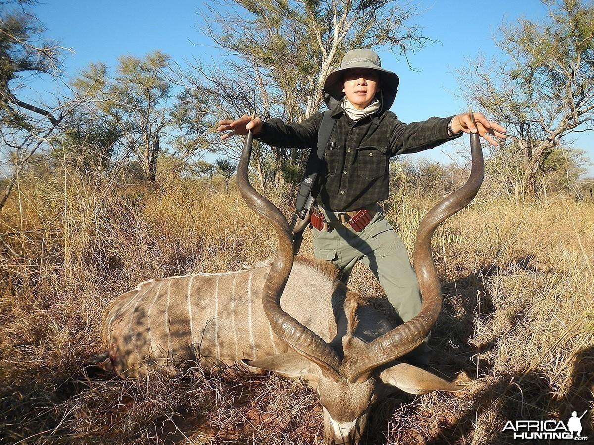 "52"" Old Kudu Nyae Nyae Conservancy, Namibia 2013"