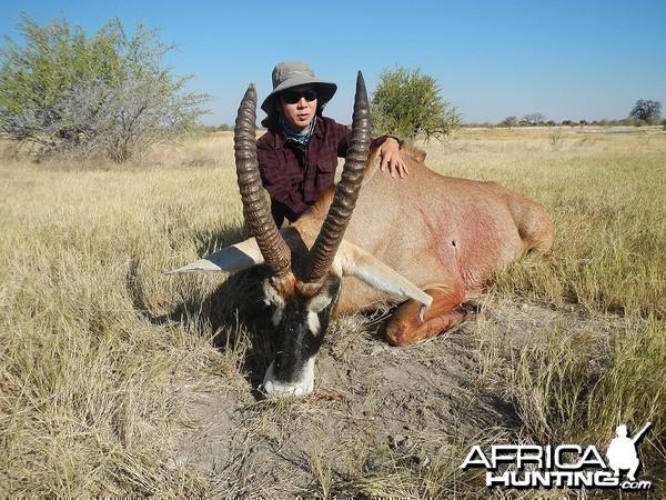 "25.5"" Old Roan, Nyae Nyae Conservancy, Namibia 2013"