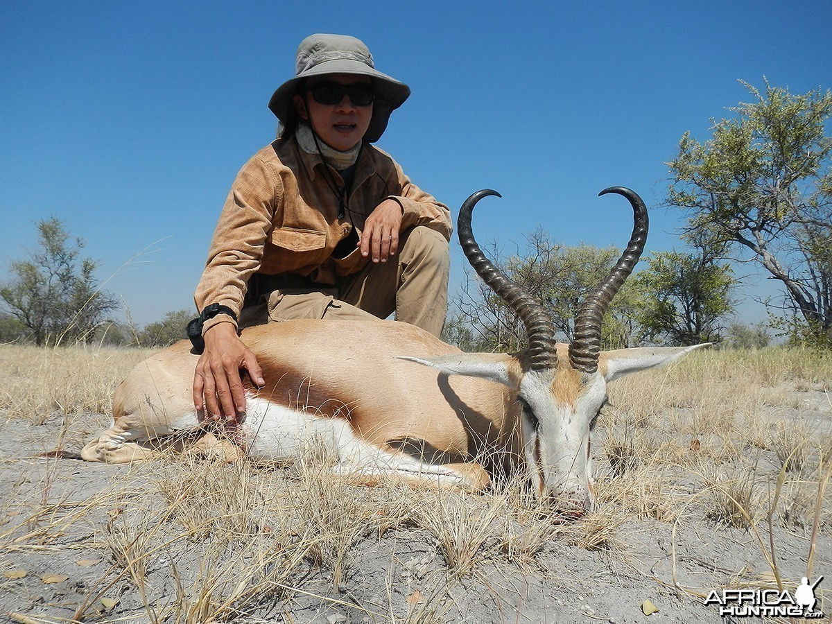"16"" Springbuck, Nyae Nyae Conservancy, Namibia 2013"
