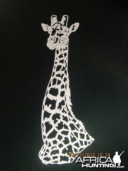 Giraffe Decal Stickers