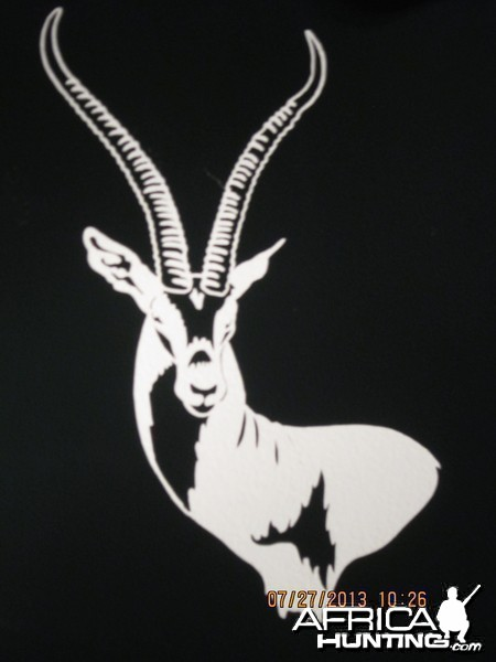 Thomson Gazelle Decal Stickers